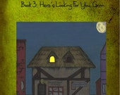 Ebook!! Tales From a Second Hand Wand Shoppe- Book 3: Here's Looking For You Grim.  -- Illustrated!
