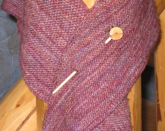 Tree Branch Shawl Stick