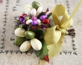 Spring Millinery Stamen Posy - Garden Party Pastel Spring Floral Stamen Supplies - Wedding Garland Trim - Flower Making Supplies