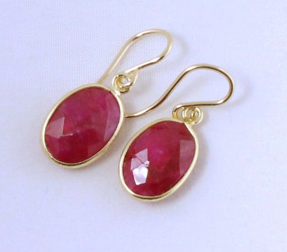 ruby earrings for babies sale ruby earrings precious ruby gemstone earrings 9013