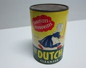 vintage sealed Old Dutch cleanser