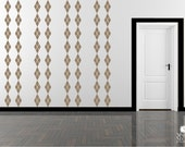 Wall Decals Argyle Mural - Wall Pattern Vinyl Text Stickers Art Graphics