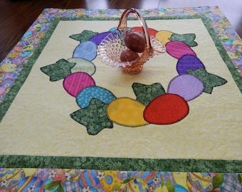 Easter Egg Wreath Table Topper