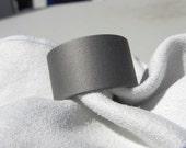Titanium Ring or Wedding Band Sandblasted Finish Wide Widths