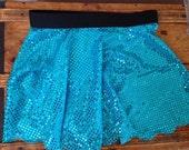Sparkly Running Skirt