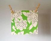 SALE, Vintage French Gouache Textile/Wallpaper Design, Vintage Gouache Painting, Flower Art, Home Decor