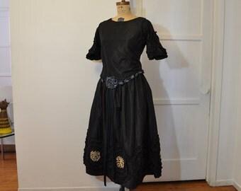 1910s dress / Rosie Rosettes Antique Edwardian 1910s Dress