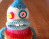 Rainbow Belly Monster - RESERVED LISTING for Tree M.-