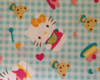 Hello Kitty Tea Party By The Yard FBTY