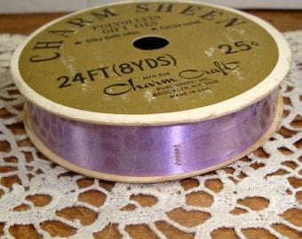 Vintage Purple Ribbon, Charm Sheen, Craft, Polyolefin Gift Ties, Curling Ribbon  (8737)