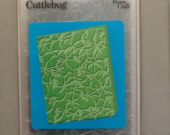 Provo Craft Cuttlebug Floral Screen