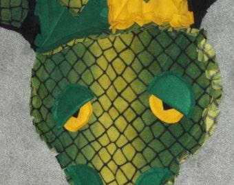 Swampson the Alligator Rag Quilt