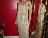 Vintage Lace  Dress Flapper 20 Theme Holiday Garden Tea Party Size12