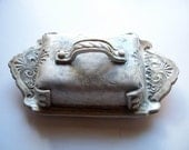 Covered Single  Stick Butter Dish