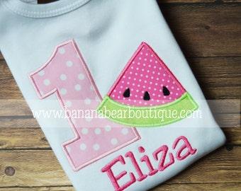 Watermelon  Birthday Shirt