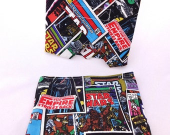 Star Wars Reusable Lunch Duo - Sandwich Wrap and Snack Bag
