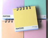 PANTONE Paintchip notebooks Set of 5 in pastels