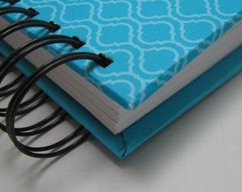 Baby GuestBook/ Baby Shower Guest Book/ Address Book/ New Mom Wisdom/ Keepsake/ Baby Shower Sign In/ Address Guest Book/ Blue Lattice