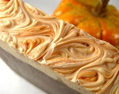 Pumpkin Biscotti Soap, Cold Process Soap, Bar Soap, Handmade Soap, Phthalate Free, Handmade Soap, Hostess Gift, Pumpkin Soap