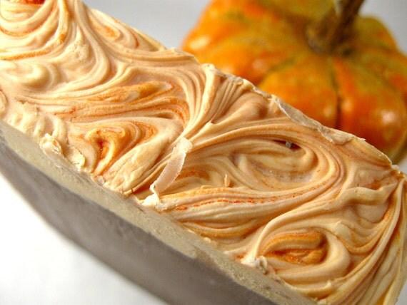 Pumpkin Biscotti Soap, Cold Process Soap, Bar Soap, Handmade Soap ...