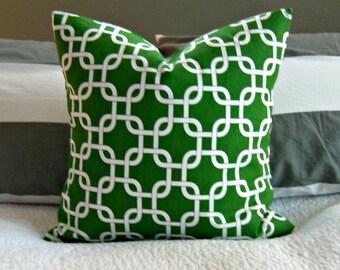 Green Gotcha Pillow Cover
