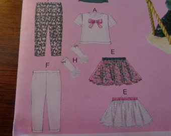 McCall's toddlers' outfit pattern
