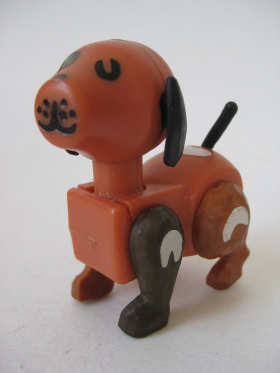Fake Toy Dogs : Dog little people fisher price plastic toy puppy vintage
