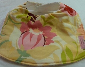 Baby Bib - Hunky Dory with cotton terry backing