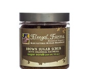 Fleegal Farms Cinnamon Oatmeal Brown Sugar Scrub Vegan