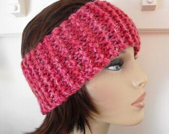 Head Band Knitted Soft Merino Wool Blend  Sport Ski