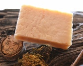 LAVENDER  Homemade Goat's Milk Soap Old Fashioned Soft Lathering Cleansing Bar