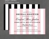 DIY Shower Invite, Printable Bridal Shower Invitation