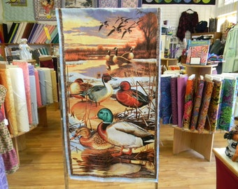 Duck, Duck, Goose Cotton Fabric Panel