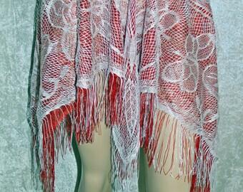 Fringe Fairy Mini Skirt Handmade