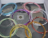 Coloured memory wire necklace 3 sizes and many colours available
