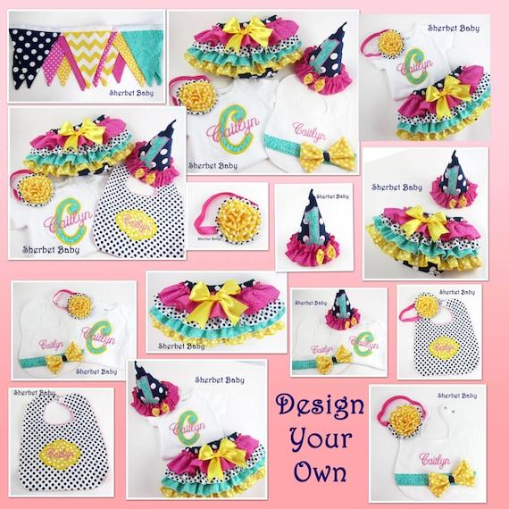 Design Your Own Banner: Items Similar To Design Your Own Set Birthday Cake Smash