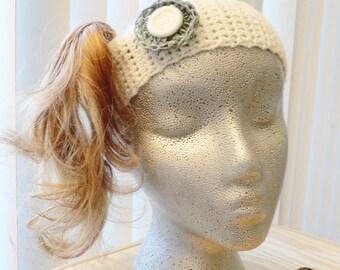 Daisy ... Headband ... OOAK