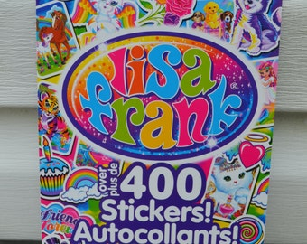 Lisa Frank Sticker Book - over 400 stickers