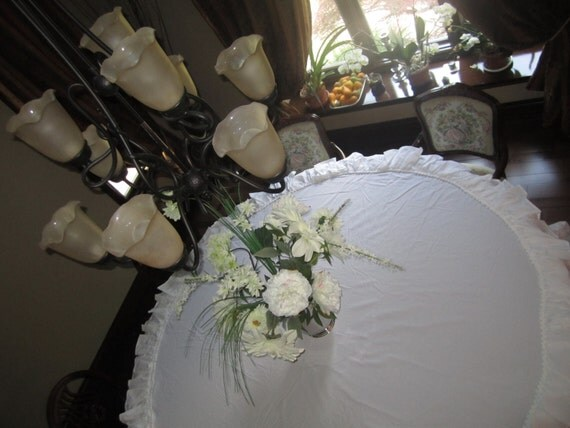 Table Cloth Shabby Chic Lovers Custom order Promo Listing (large)