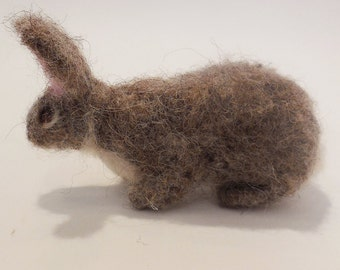 Felted cottontail rabbit  by Carol Monteleoni   (510)