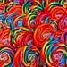 Whirly Pop Swirl Lollipops Fine Art Print- Carnival Art, County Fair, Nursery Decor, HomeDecor, Children, Baby, Kids