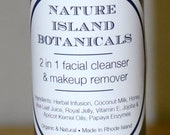 2 in 1 Facial Cleanser, Makeup Remover. Your Facial Skin Will Be So Very Soft andSupple.