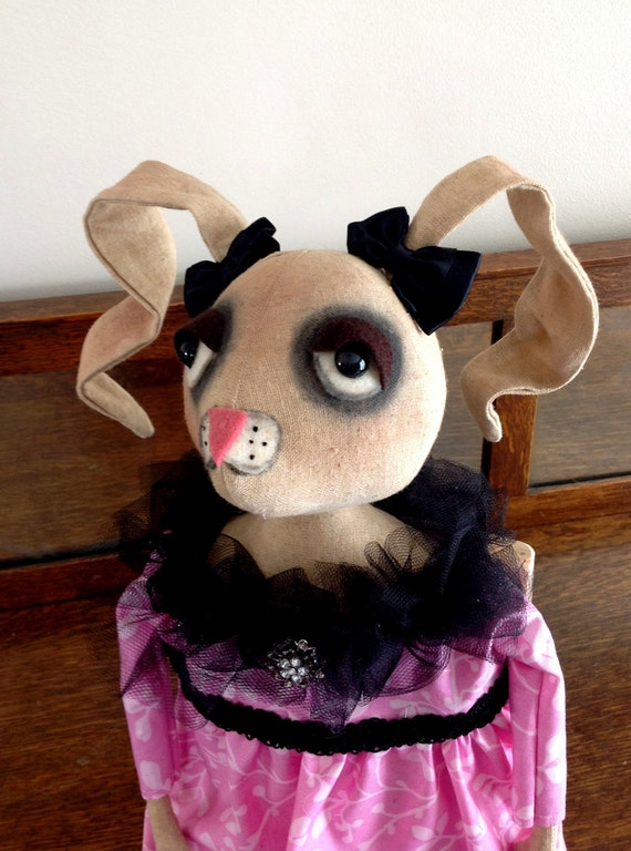 Primitive Bunny Rabbit Doll