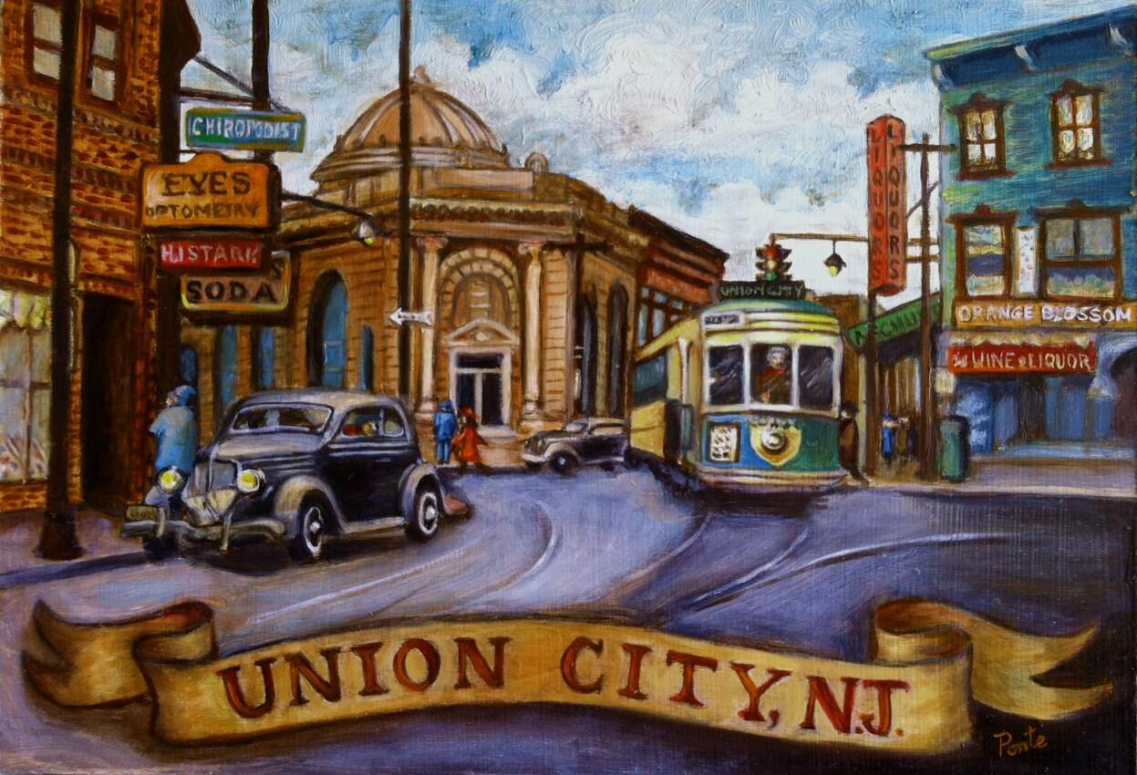 Vintage union city nj