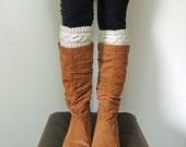 Xoxo Cable Boot Cuffs Knitting Pattern / Digital PDF Knitting Pattern