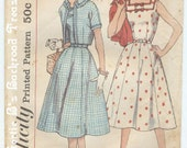 Vintage Simplicity Dress Patterns 2507