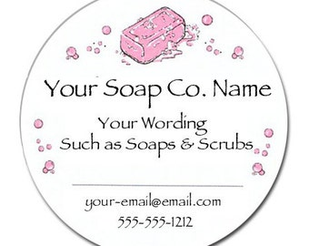 Personalized Soap Stickers