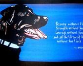 Commemoration of a Beloved Pet
