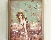 Limited Edition Print - Memories Like Butteflies 1/30