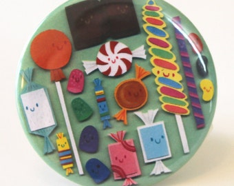 SALE - Candy Conference Pocket Mirror